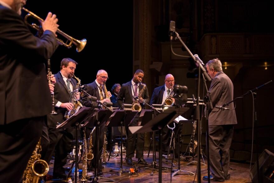 Cleveland Jazz Orchestra plays
