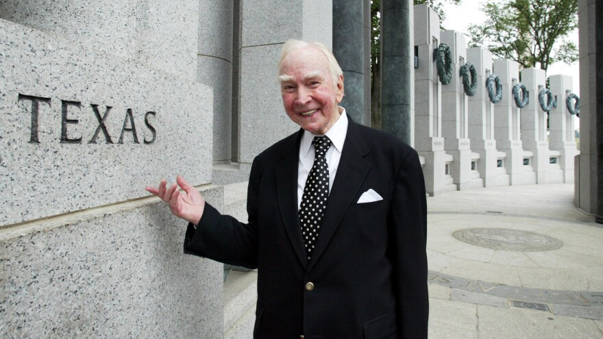 Former House Speaker Jim Wright of Texas in 2005. He died Wednesday at the age of 92.
