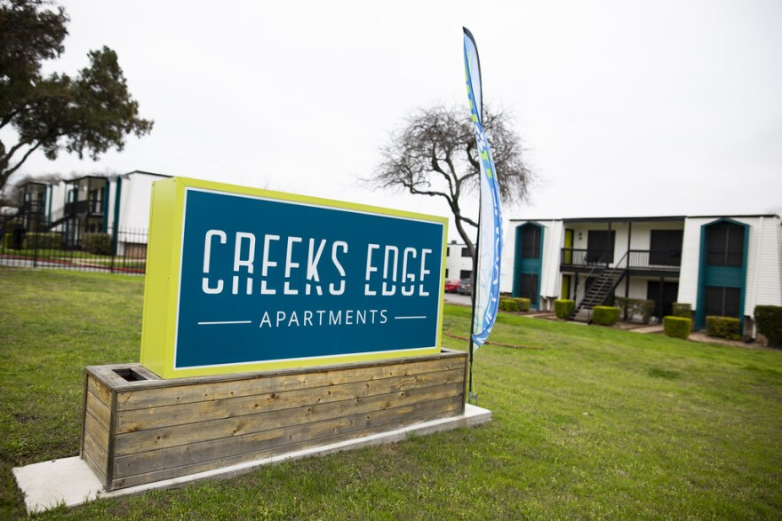 Creeks Edge, a 200-unit complex in North Austin