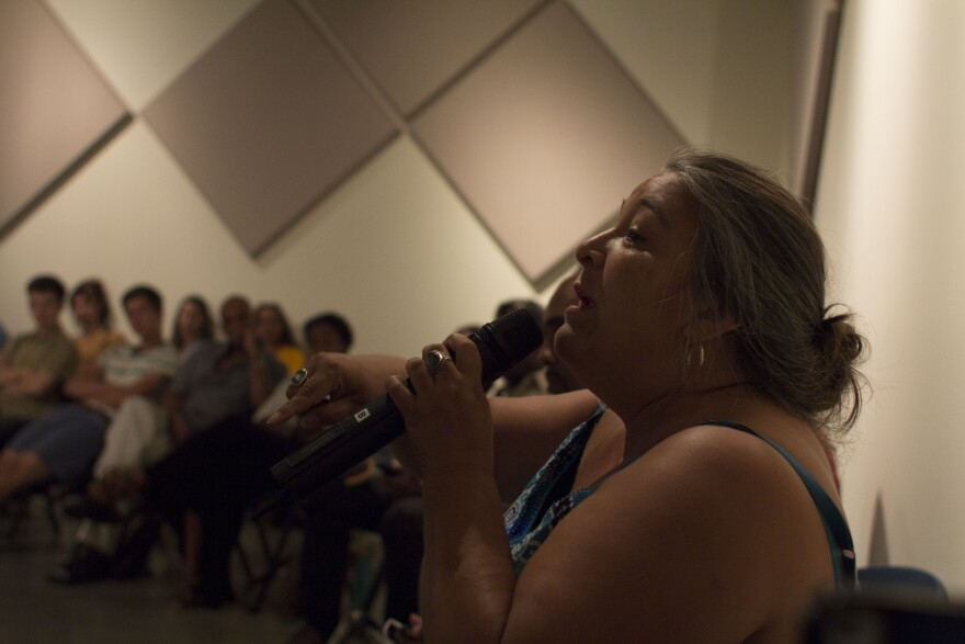 Poet Elizabeth Vega Talks at RAC Gathering of Artists.