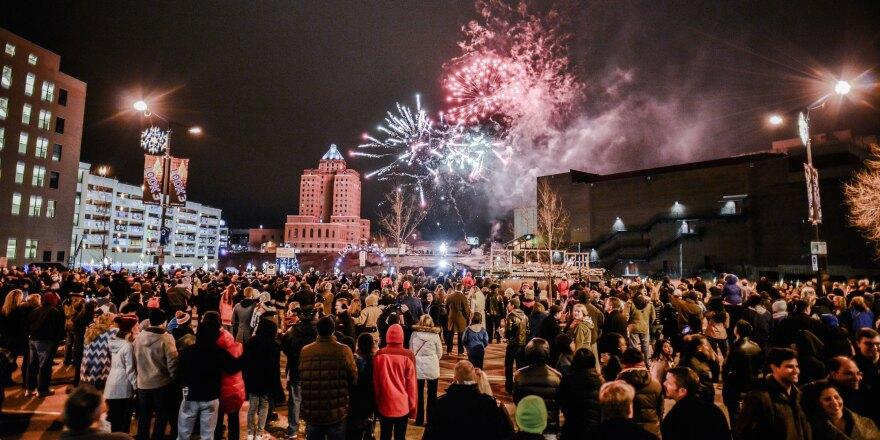 First Night Akron celebration