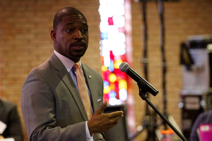 The Rev. Starsky Wilson former co-chair of the Ferguson Commission