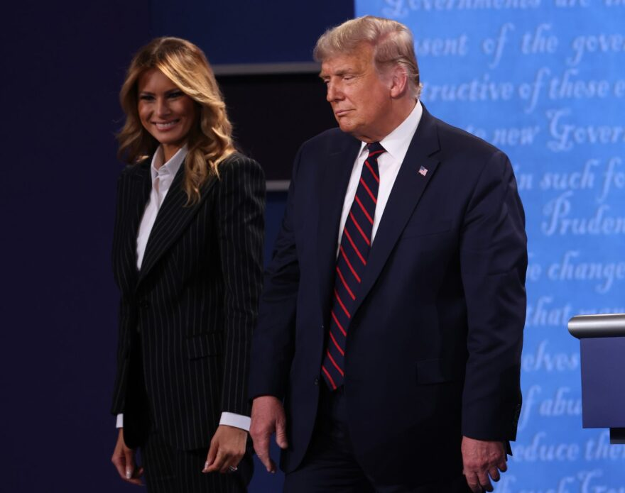 President Donald Trump and First Lady Melania Trump have tested positive for COVID-19. This comes after President Trump appeared on the presidential debate stage with former vice president Joe Biden earlier this week.