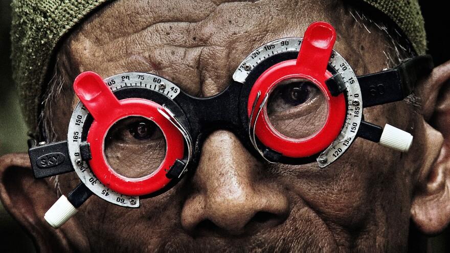 A scene from Joshua Oppenheimer's documentary <em>The Look of Silence.</em>