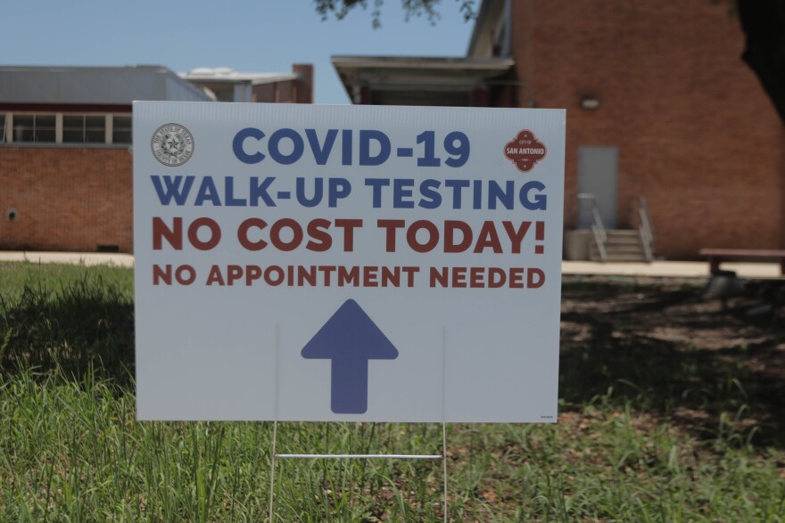 A testing site at Highlands High School saw 131 people on the first day it was open, May 28. The site will be open 10 a.m.–2 p.m. on May 29 and May 30.