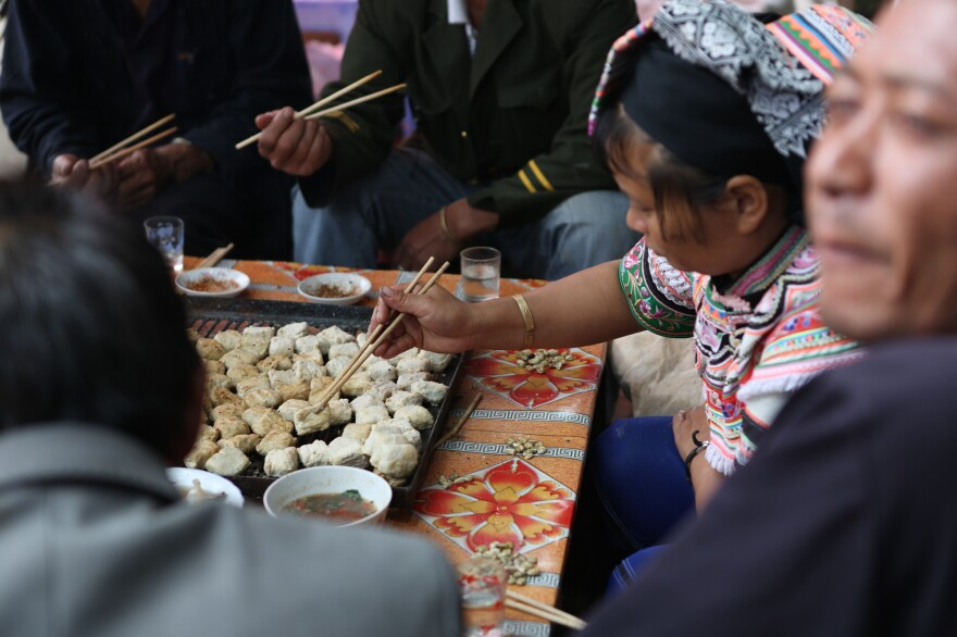 "A woman in China's Yunnan Province makes tofu in an episode of<em> Perennial Plate</em> called ""Where The Water Settles."""