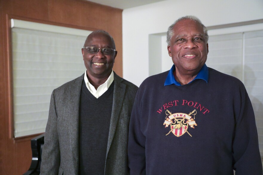 Jimmy Garrett (left) and Jerry Varnado helped organize the first Black Student Union in the country at San Francisco State.