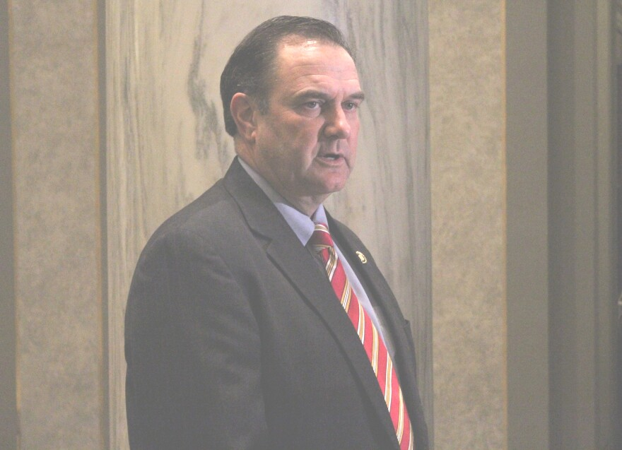 Mike Kehoe, R-Jefferson City, was sworn in Monday as lieutenant governor of Missouri.
