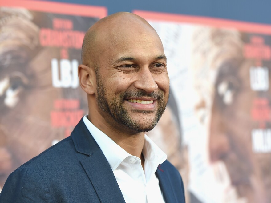 Actor Keegan-Michael Key attends a premiere at Paramount Studios on May 10 in Hollywood.
