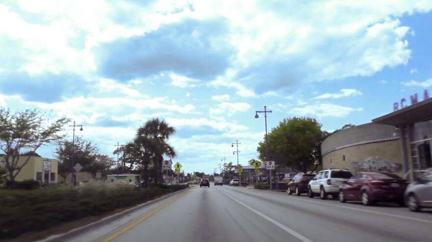 Main Street in Immokalee, Florida