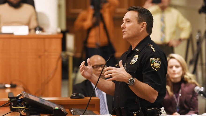 Jacksonville Sheriff Mike Williams said Friday at the Task Force On Safety and Crime Reduction meeting that law enforcement along cannot solve Jacksonville's crime problem.