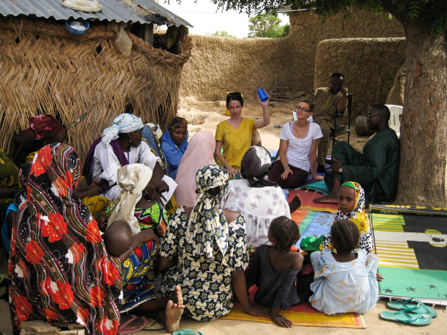 How can women in rural Nigeria get the care they need? That's what Columbia University graduate students in public health asked residents of Kadawawa, Nigeria.