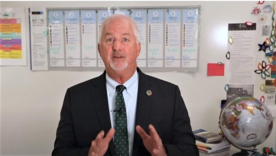Superintendent Kurt Browning