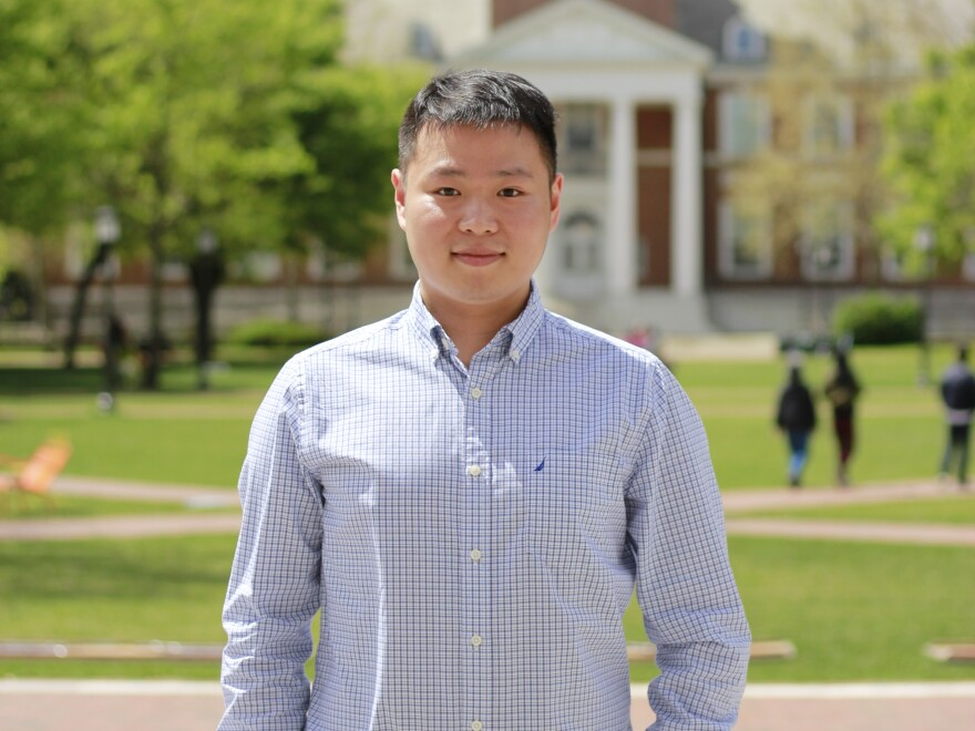 Ensheng Dong, a first-year Ph.D. student, helped create a dashboard showing cases of the disease, COVID-19, caused by the novel coronavirus.