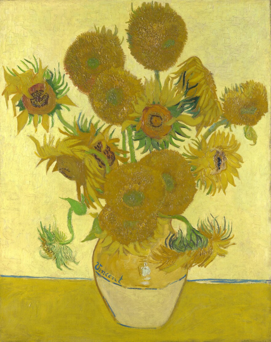 Vincent van Gogh - Sunflowers - What am i looking at