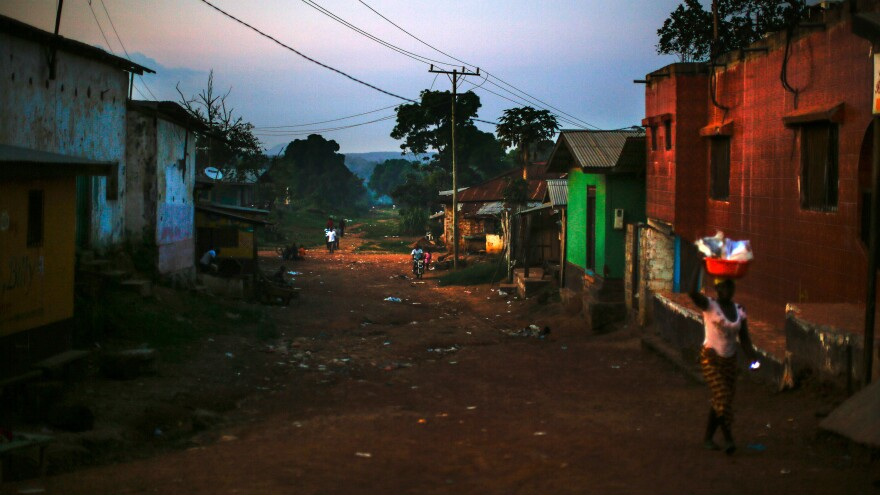 The Liberia-Guinea border has been closed since the early days of the Ebola outbreak. The Liberian city of Ganta — about a mile from the border — has historically been a hub of commerce, and was hit hard by the closure.