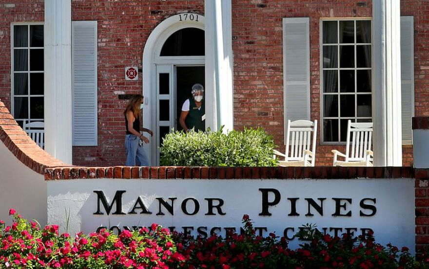 Sixteen residents of the Manor Pines Convalescent Center in Wilton Manors have died of COVID-19.
