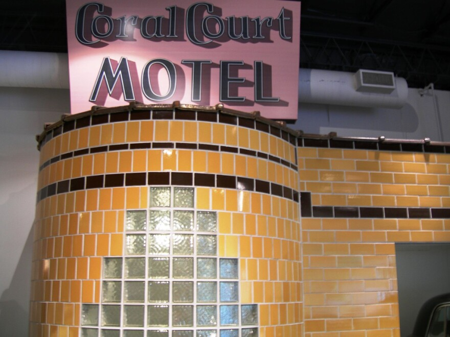 A hint of what the Coral Court buildings were like, courtesy of the Museum of Transportation.