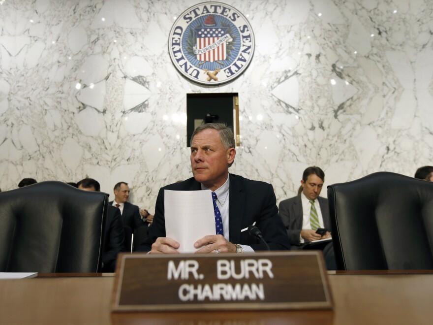 Senate Intelligence Committee Chairman Richard Burr, R-N.C.