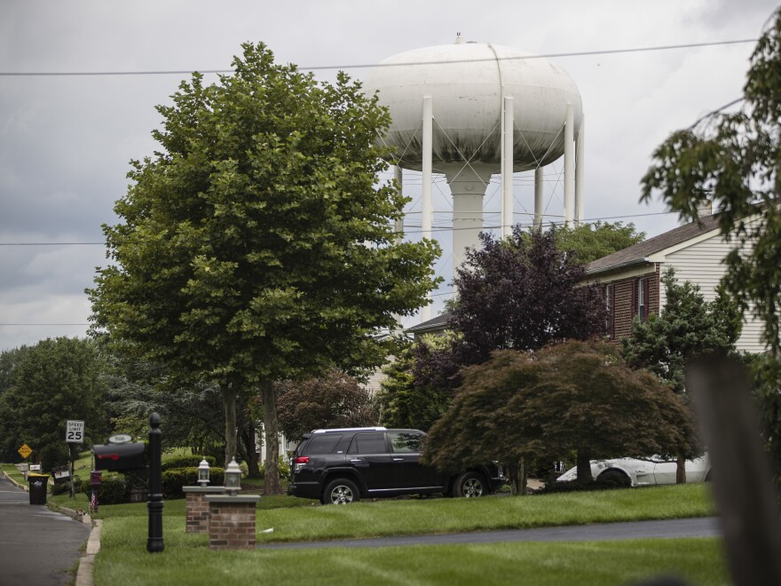 Horsham, Pa., is one of many towns around the country grappling with potentially harmful chemicals in its water. They're known as PFAS, and they're linked to cancer and other illnesses.