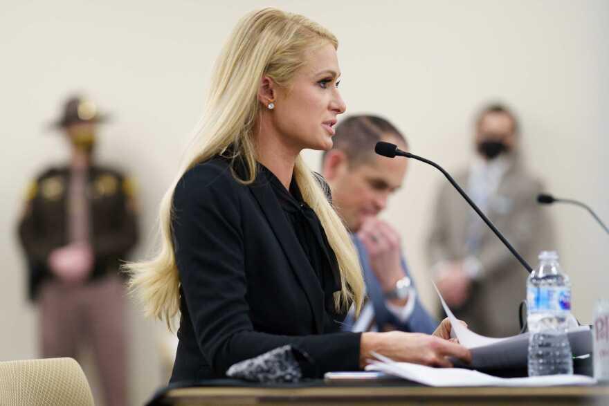 A photo of Paris Hilton.