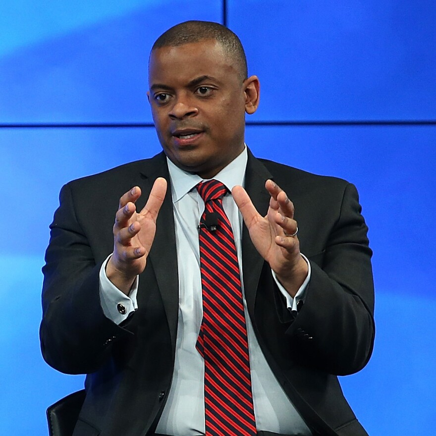 """""""The bottom line is, if you're stuck in traffic today and your travel time's longer than it was 10 years ago, it's likely to get worse unless we take some very important steps at the federal, state and local level,"""" says Transportation Secretary Anthony Foxx."""