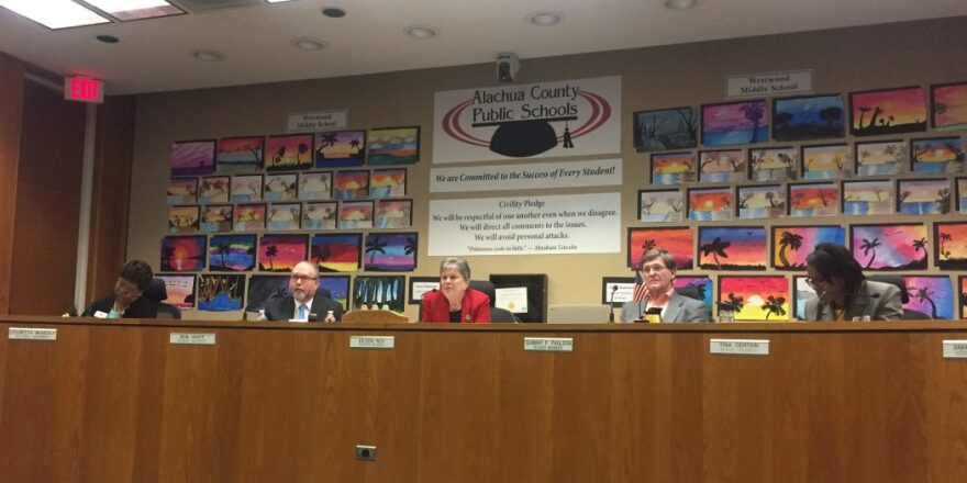 Alachua County School Board meeting