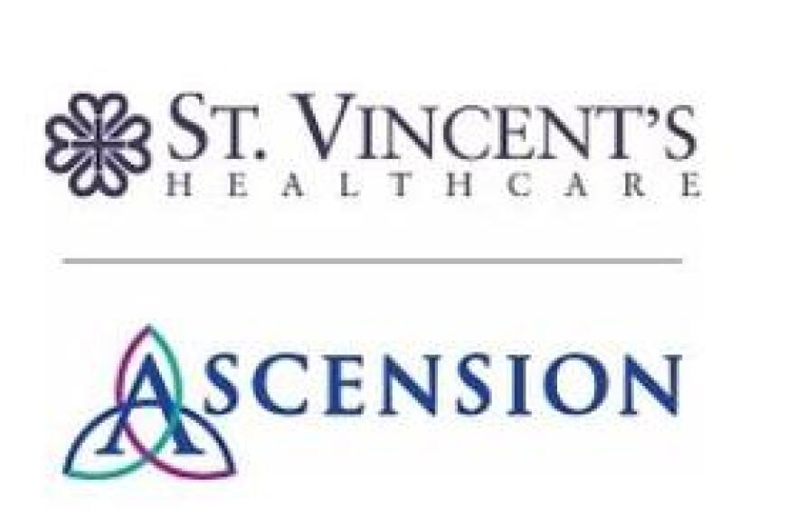 St. Vincent's Healthcare is adding Ascension to its name.