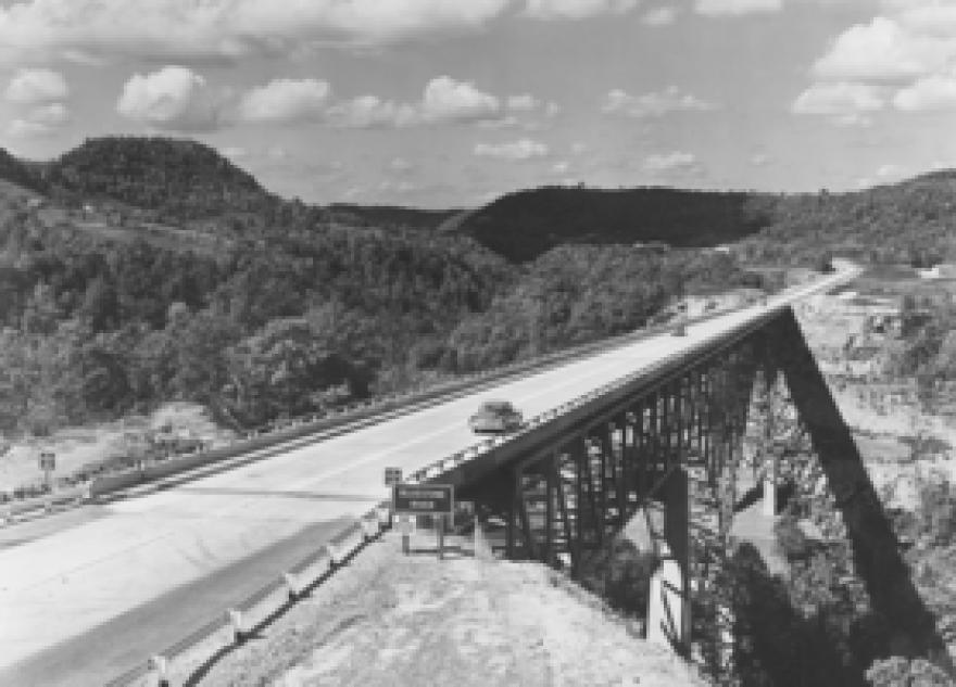 WV Turnpike Bridge