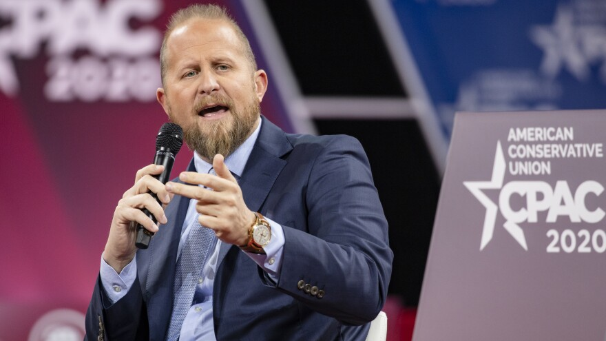 Brad Parscale, who has been a familiar presence during President Trump's election runs, had threatened to harm himself, his wife told police. Parscale is now in a hospital; police say he cooperated with officers who came to his home Sunday.