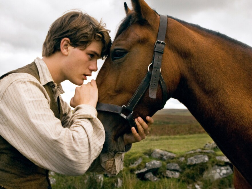 """Director Steven Spielberg delivers <a href=""""http://www.npr.org/templates/story/story.php?storyId=143513144&live=1"""">War Horse</a>, an unforgettable odyssey for Albert (Jeremy Irvine) and his horse Joey."""