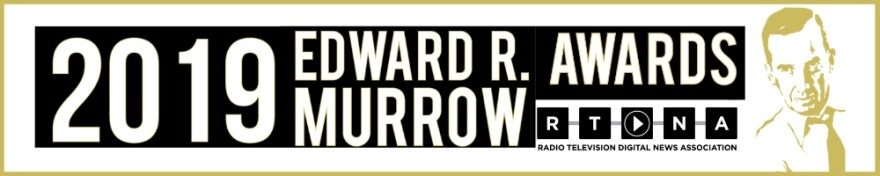 2019 Murrow Awards Banner.