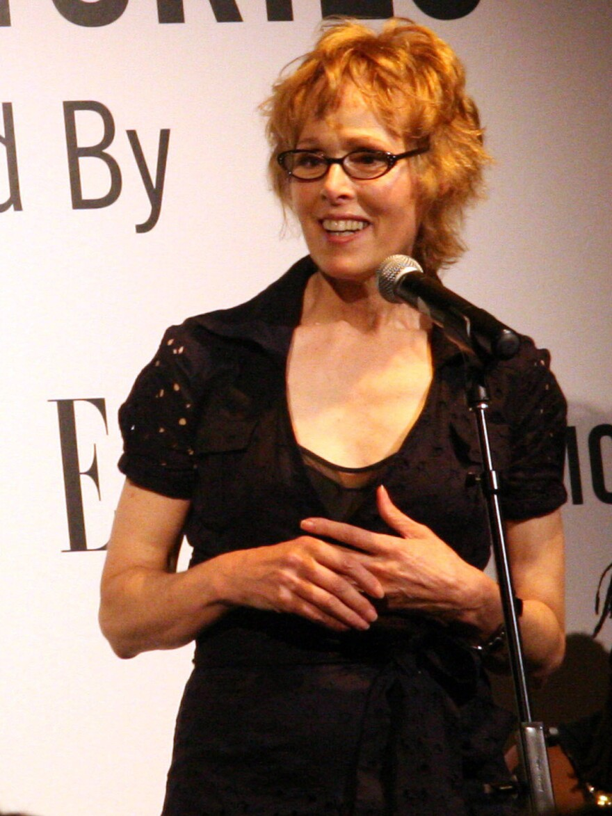 Advice columnist E. Jean Carroll at an event in 2006. Carroll alleges in a new book that now-President Trump sexually assaulted her in the mid-1990s.