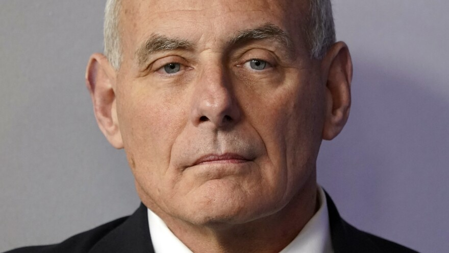 "White House Chief of Staff John Kelly is denying that he called President Trump an ""idiot."" He called reports to that effect, ""B.S."""