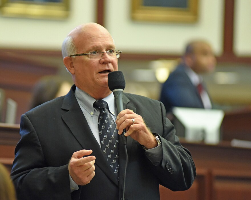 Senator Dennis Baxley wants to make it tougher to change the state's constitution.