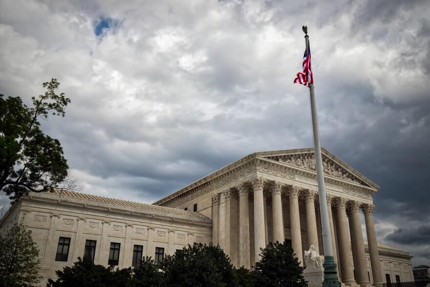 Photo of US supreme court.
