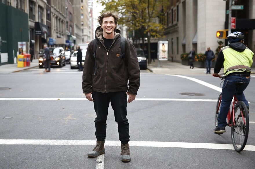 "After three years at community college, Jake Meile is following his dream of being an actor to the American Academy of Dramatic Arts in New York City.<a href=""https://www.aada.edu/""> </a>"