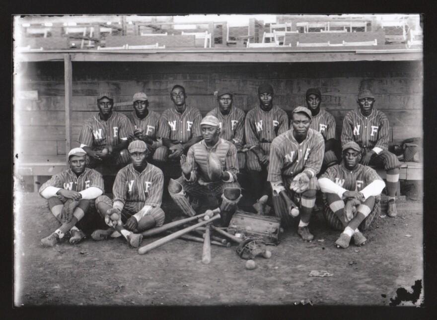 The Wichita Falls Black Spudders baseball team.