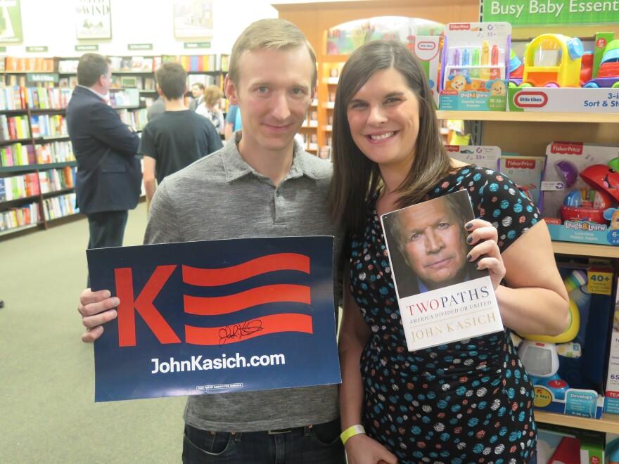 photo of Eric and Lindsay Weisenburg