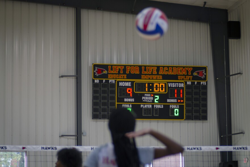 Lift for Life Academy raised $1.1 million in donations to build a gymnasium at its campus in St. Louis' Kosciusko neighborhood, allowing it to host home sports games for the first time.