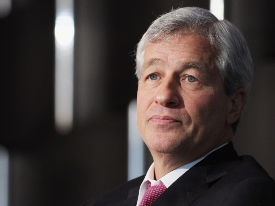 """JPMorgan Chase Chief Executive Officer Jamie Dimon cited """"many errors, sloppiness and bad judgment"""" in announcing a $2 billion loss due to a hedging strategy."""