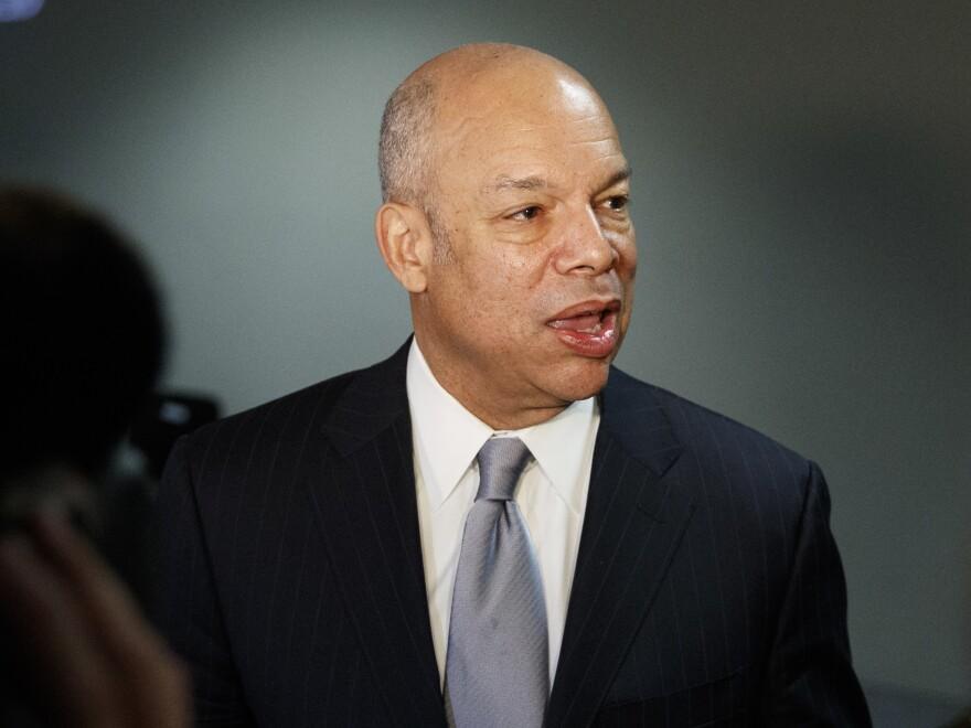 Former Homeland Security Secretary Jeh Johnson