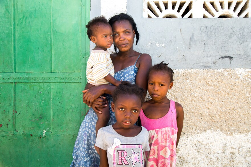 Project Drouillard resident Magdala Simeone and her neighbors recently pooled $75 to get a shared pit latrine emptied. She never met the person or people who did the work and doesn't know where the human waste was dumped.