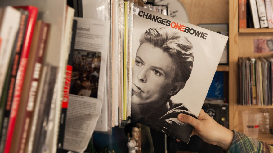 When we asked you for memories of David Bowie songs, many happened to appear on the crucial <em>Changesonebowie</em> compilation, which sits in the NPR library.