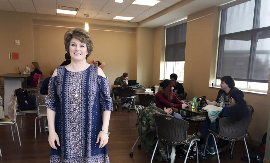 Michelle Griffith is one of about a thousand adult learners at Motlow State Community College outside of Nashville, Tenn.