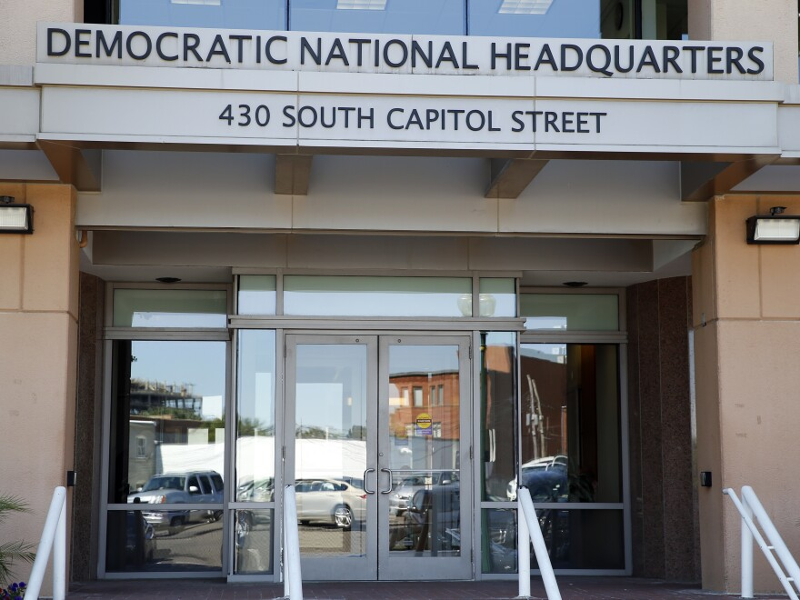 The Democratic National Committee says an attempted cyberattack it discovered this week was actually a test launched by Michigan Democrats.