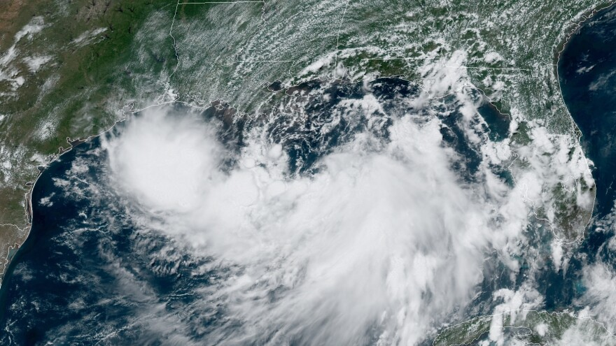 The slow pace and heavy rains of Tropical Storm Barry are likely to pose the greatest risk to people living along the Gulf Coast and inland areas, forecasters say.
