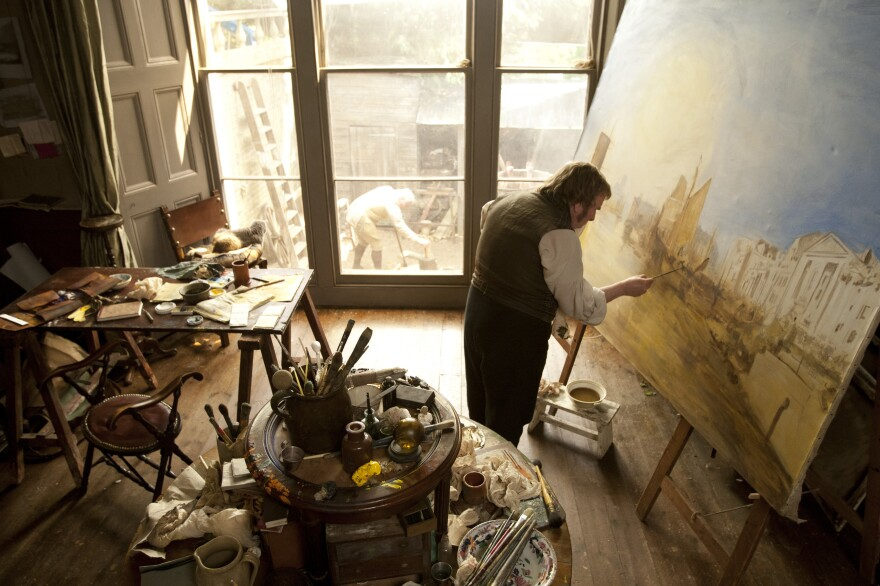 Timothy Spall took fine art lessons on and off for two years so he could correctly portray British painter J.M.W. Turner in Mike Leigh's new film <em>Mr. Turner</em>.
