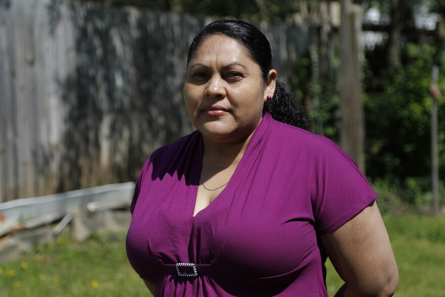 Erika Romero joined millions of Americans out of work after she was recently laid off from her job as an office janitor.