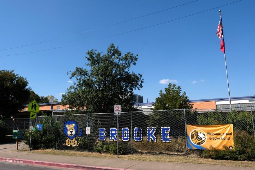 Brooke Elementary School in East Austin